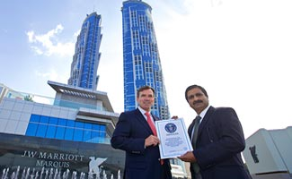 World's Tallest Hotel opens In Dubai