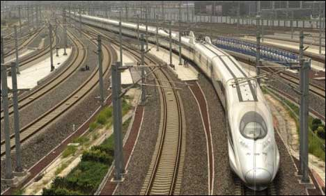 China to open longest high-speed railway
