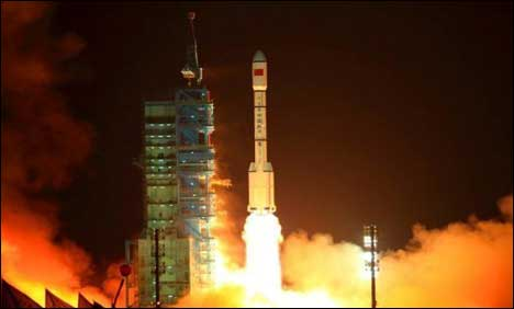 China unveils rival GPS satellite system