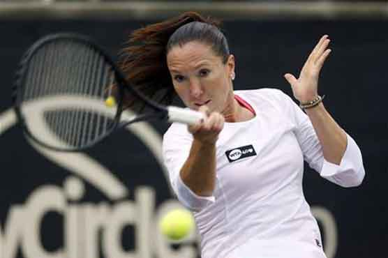 Jankovic wins, Stosur retires at Family Circle Cup