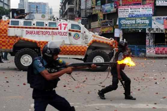 22 people killed in clashes with Dhaka police