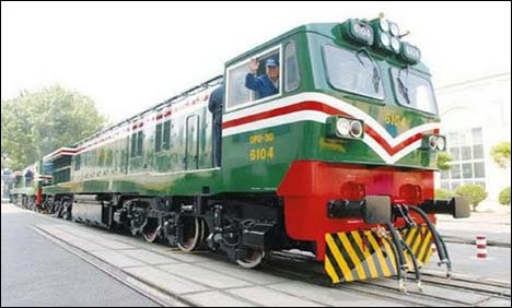 Pakistan to get Rs10.78bn Chinese locomotives