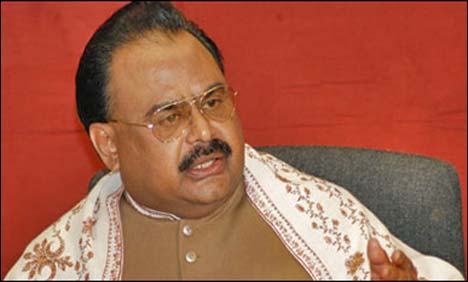 Were against division of Sindh, still are: Altaf
