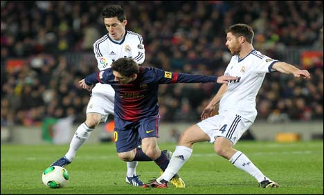 Real through to Cup final, down Barcelona 3-1