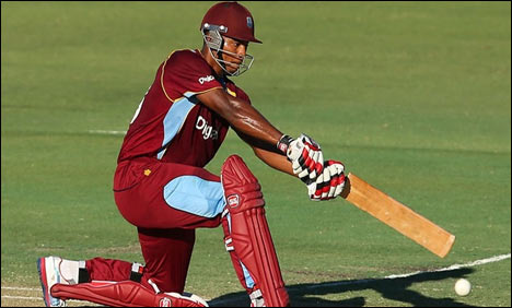 4th ODI: WI make first use of the wicket