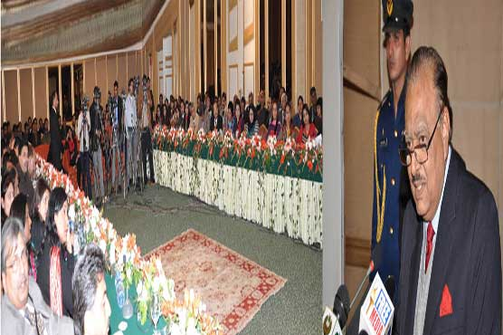 War against terrorism to be taken to its logical end: President Mamnoon