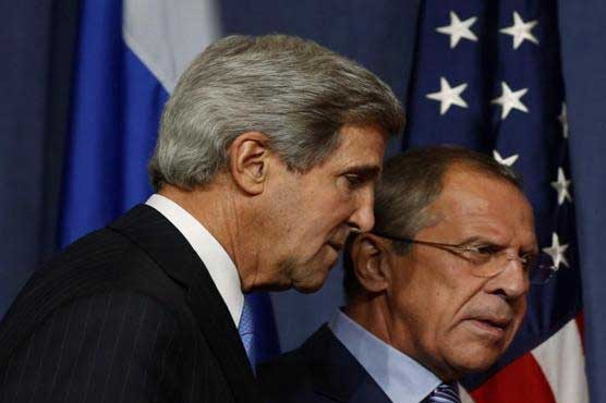 Kerry and Lavrov discuss Syria peace talks
