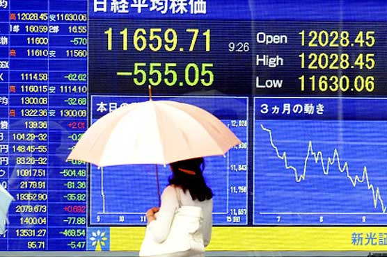 Asian shares rise