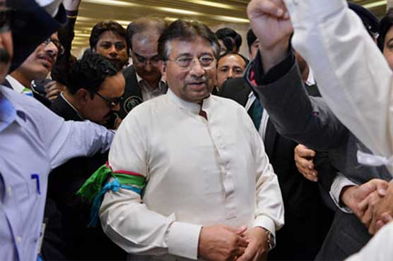 Musharraf submits plea in SHC for removal of name from ECL