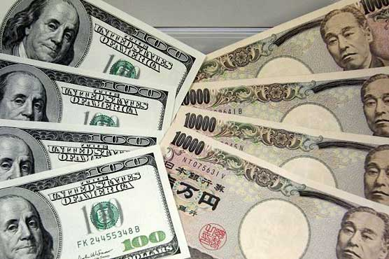 Dollar up against yen