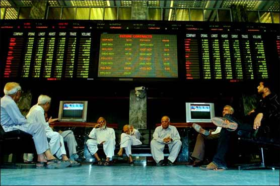 KSE starts week with bearish trend