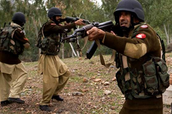 FC kills 10 militants in Panjgur operation