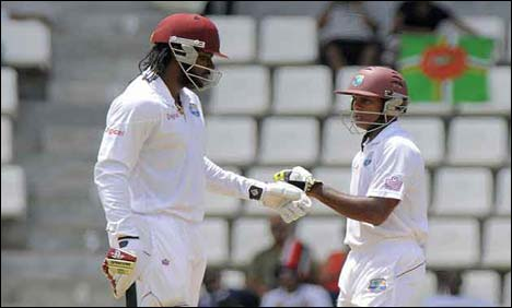 WI gain lead of 206 on Day2