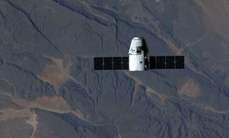 SpaceX's capsule arrives at ISS