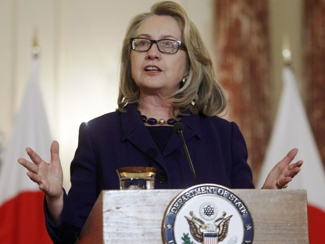 Hillary Clinton reveals war over Afghan policy
