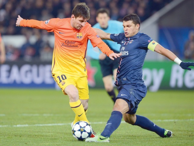 Champions League: Barca play down Messi injury fear