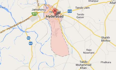 Bank robbed in Hyderabad