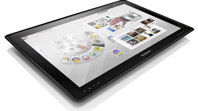 Lenovo to release giant 27-inch tablet PC; stands up as a regular PC, lies flat as tablet