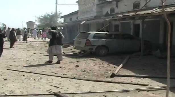 Two killed in Chaman railway station blast