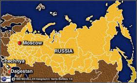 Suicide bomber kills three in Russia's Chechnya: official