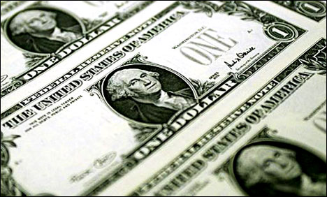 Dollar eases in Asia after upbeat US data