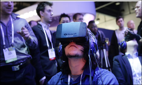 Facebook buying virtual reality firm Oculus for $2bn