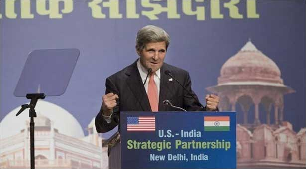 Kerry looks to ease Indian concerns on Afghanistan