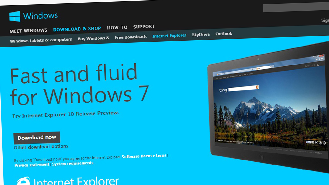 Microsoft poised to send out Internet Explorer 10 in automatic updates to Windows 7 machines