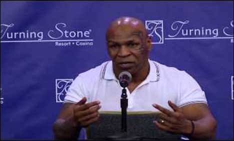 I'm on the verge of dying, because I'm a vicious alcoholic: Mike Tyson