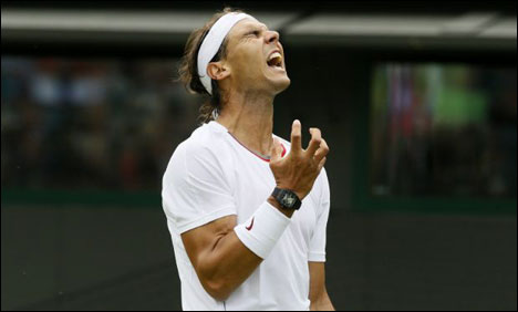 Nadal stunned at Wimbledon in first round by Darcis
