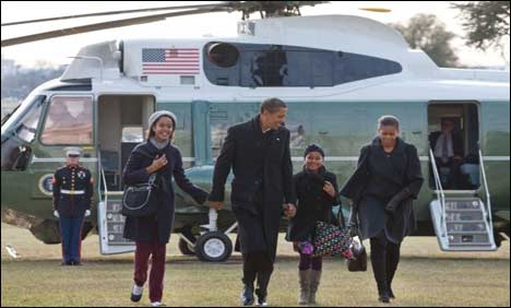 Obama back at White House after vacation
