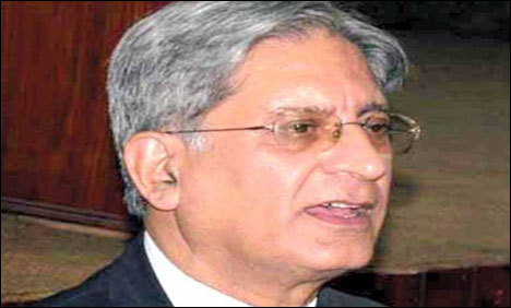 Election Commission can't change date of presidential election: Aitzaz