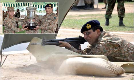 Strive for excellence in all fields, COAS to commanders