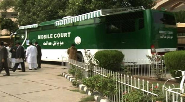 Pakistan's maiden mobile court sets in motion in KPK