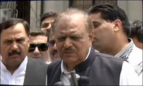 Will surrender party membership after being elected as president: Mamnoon