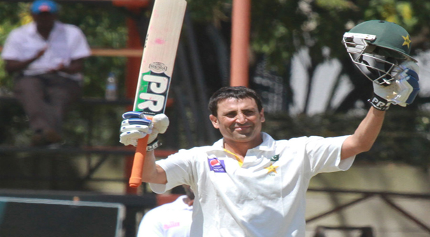 Younis century stretches Pakistan lead