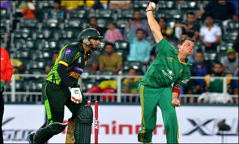 Pakistan lose by 4 runs in rain-hit T20