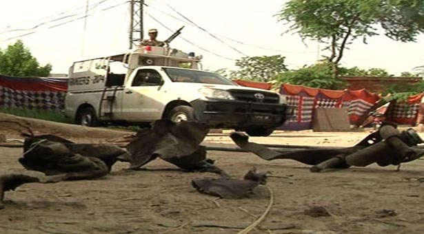 Sukkur: Area sealed off after ISI headquarters attack