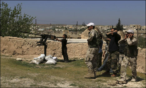 US accused of supplying anti-tank weapons to Syrian rebels