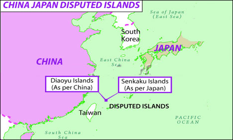 As Beijing, Tokyo jostle over islands' ownership, ships have been involved in stand-off