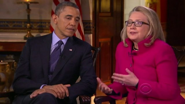 Barack Obama praises Hillary Clinton in joint interview