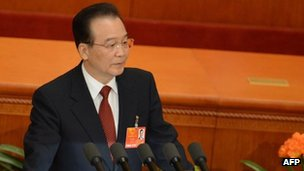 Wen Jiabao 'well-being' vow as China parliament opens
