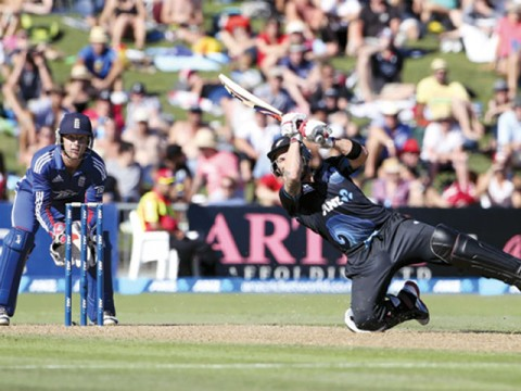 All-round England square NZ series