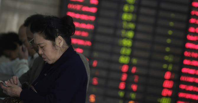 Asian markets lifted by China data, Wall St rally