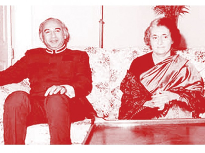 Bhutto rejected Indira's offer of nuclear technology