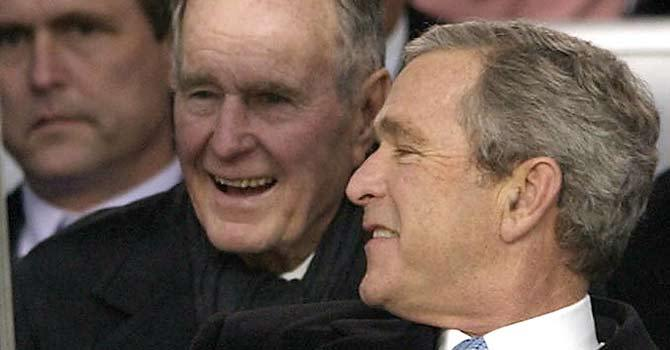 Former US president Bush in intensive care