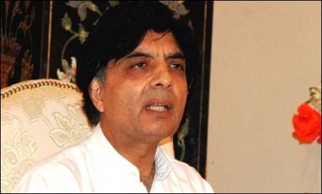 Nisar seeks report from IG FC over Bannu convoy attack