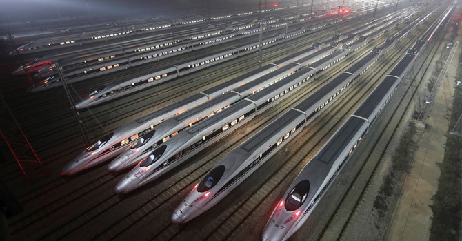 World's longest bullet train service begins in China