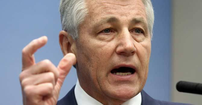 India finances trouble in Pakistan: Hagel