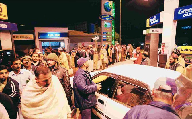 After CNG, citizens now queue up for petrol